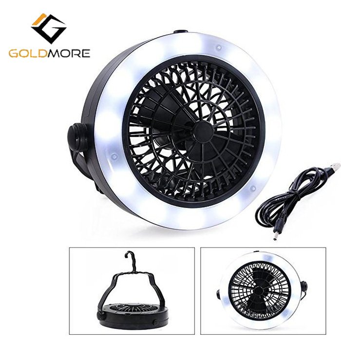 USB Fan Camping Light