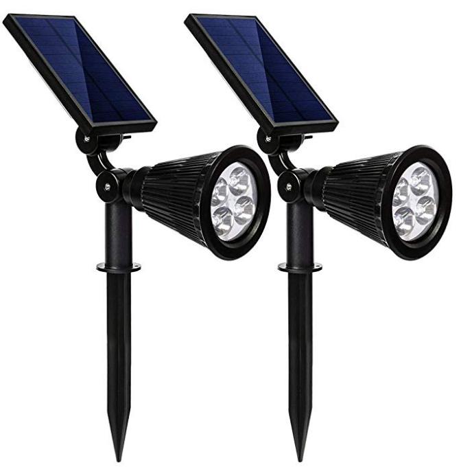 Solar Outdoor Spotlights