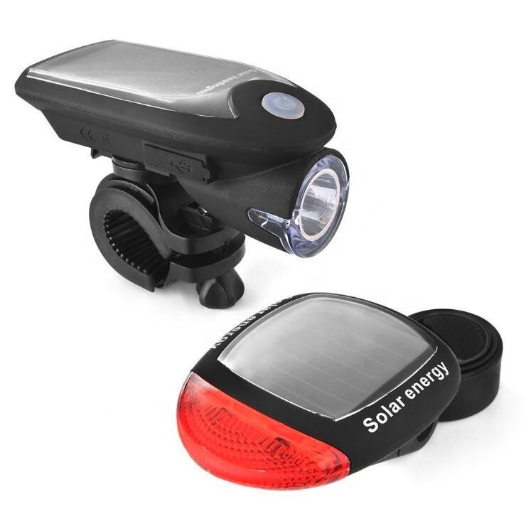GM11294 Solar Rechargeable Bicycle Light