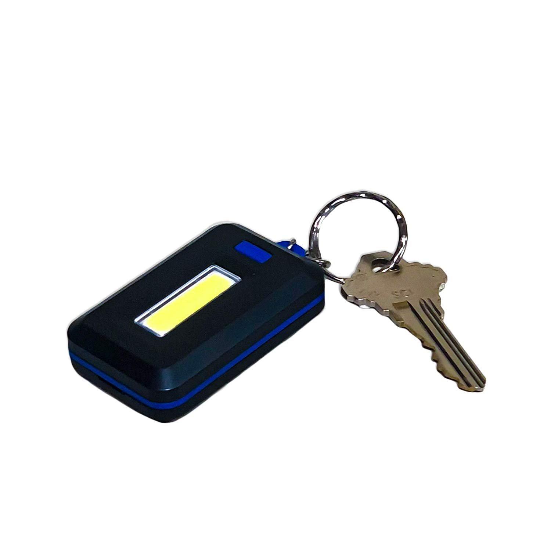 COB LED Small Key Ring Flashlight