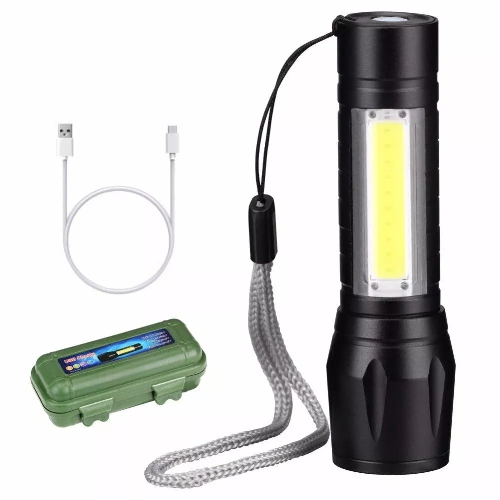USB Clip Flashlight