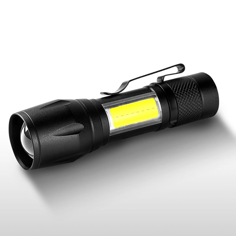 USB Mini Clip Flashlight