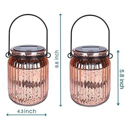 Solar Jar Hanging Light