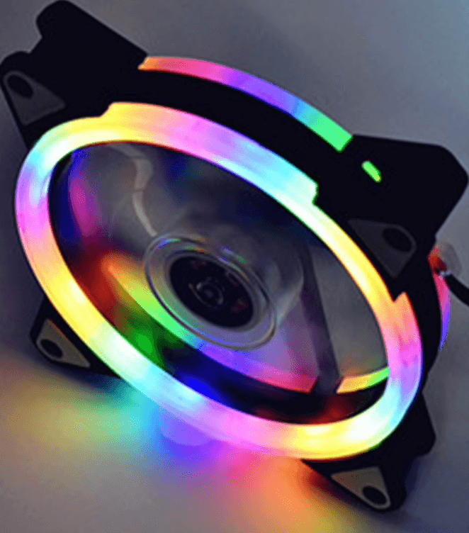 Decorative LED fan