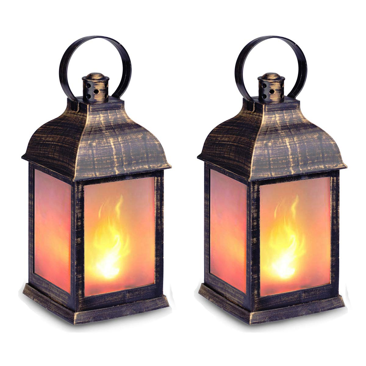 GM 11216 Metal Flame Decorative Camping Lights