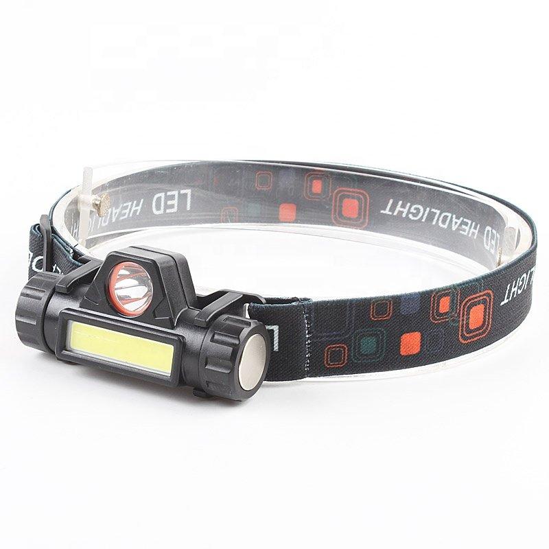 GM10126 Adjustable-Magnetic-USB-Rechargeable-LED-Headlamps