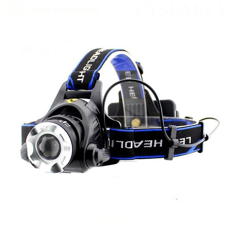 GM10130 Outdoor-Rechargeable-Battery-High-Power-Camping headlamp