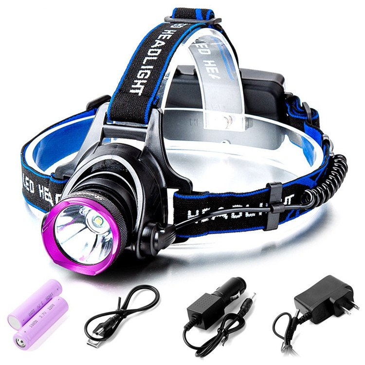 GM10130 Super Bright USB Rechargeable Headlamp