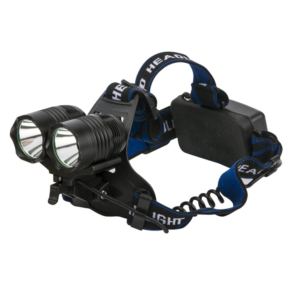 GM10138 2LED Rechargeble Outdoor camping headlamp