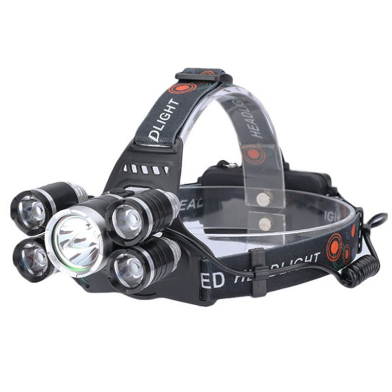 GM10140 Hot-Sale-Aluminum-5-T6-Camping Headlamp
