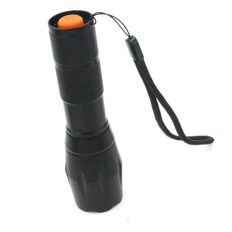 GM10150D+T6 bead 3xAAA or 18650 battery powered high lumen flashlight
