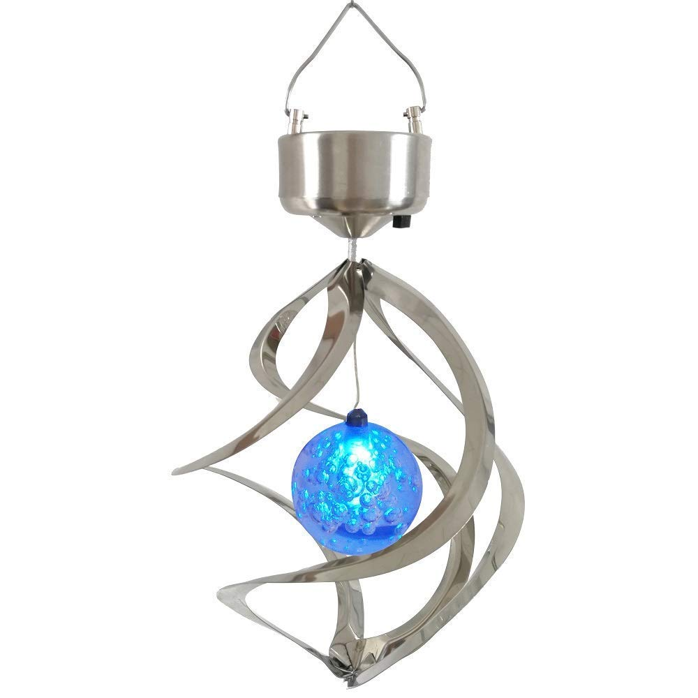 GM10587 Hanging Solar Lights Outdoor Wind Chimes Decorative Camping Lights