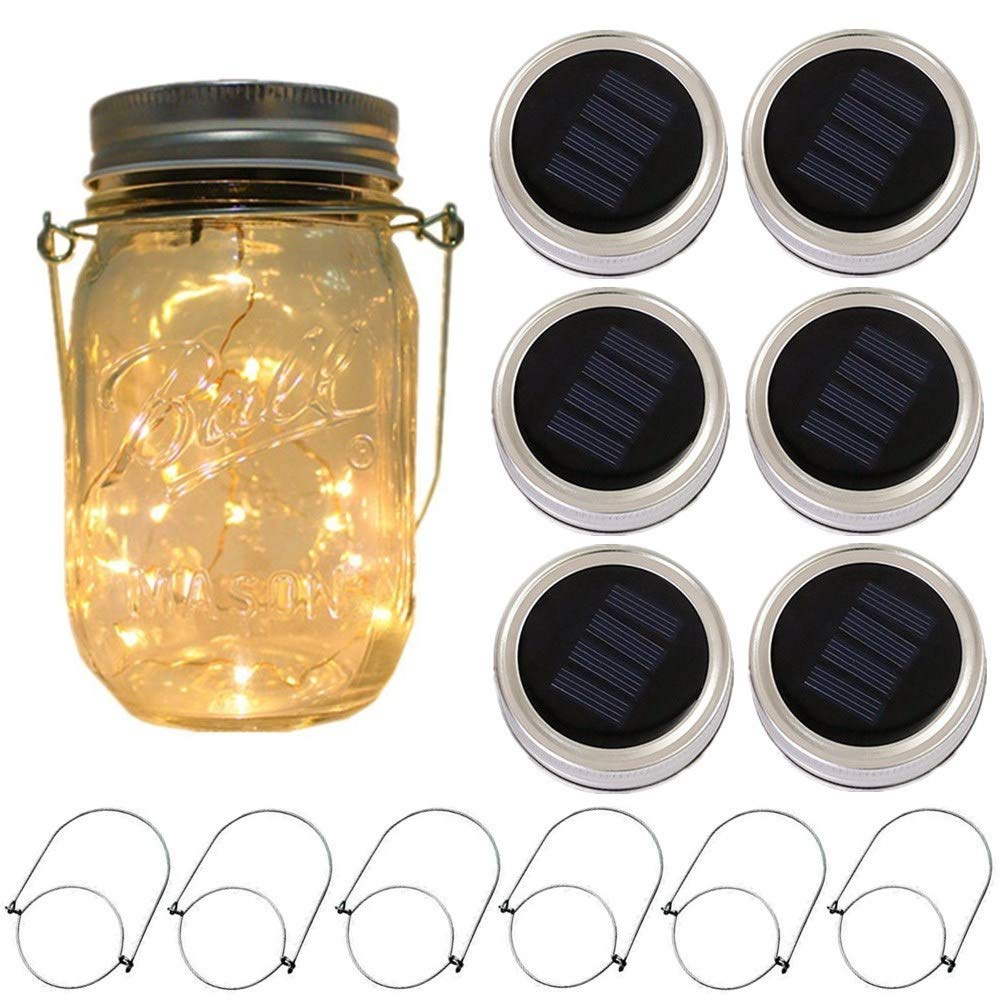 GM10594 Solar Bottle Decorative Camping Lights
