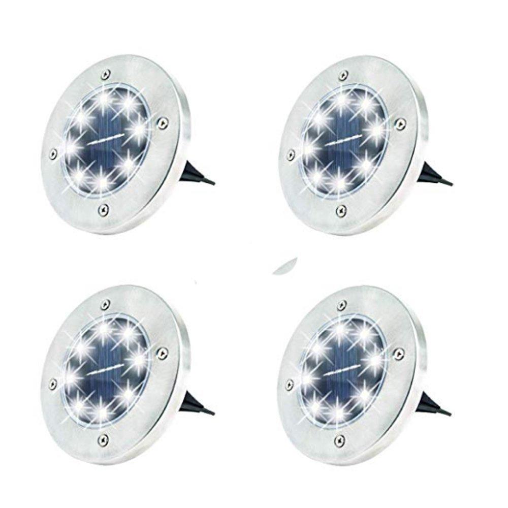 GM10595 8LED waterproof bried light solar garden lantern