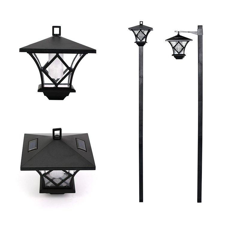 GM11049 unique design outdoor decoration solar garden lantern