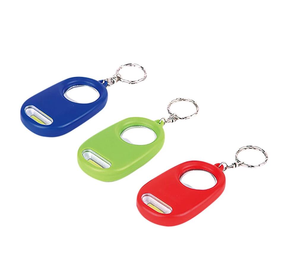 GM11062+Portable Super Mini Light COB FlashLight Key Ring Keychain Flashlight