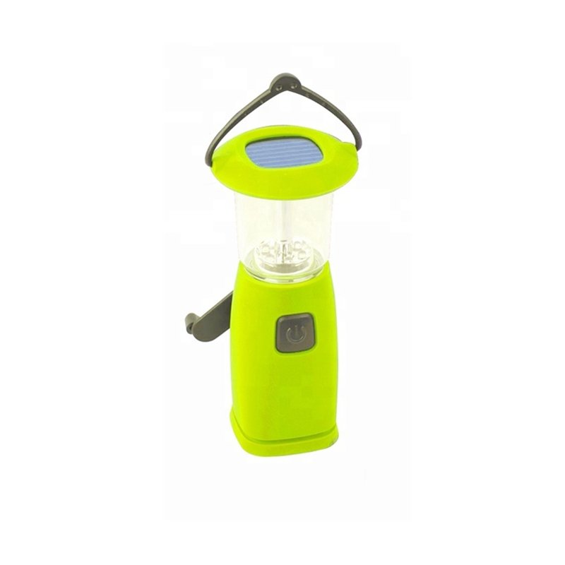 GM11070 Cheaper-Dynamo-6LED Solar Rechargeable Camping Lantern