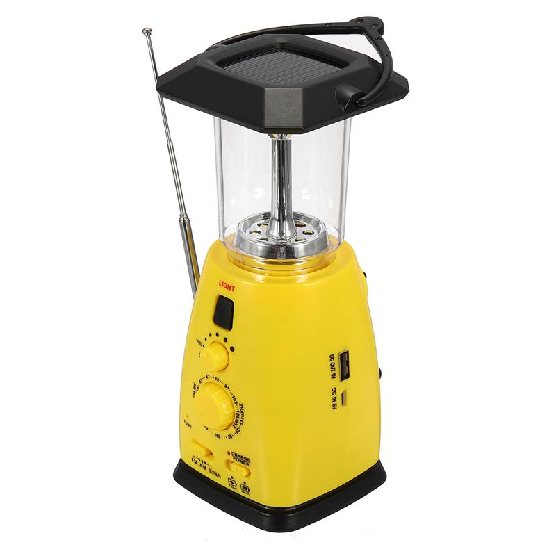 GM11070 Rechargeable Emergency Solar Rechargeable Camping Lantern