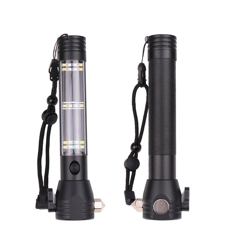 GM11104+Self-help Torch USB solar charging emergency light