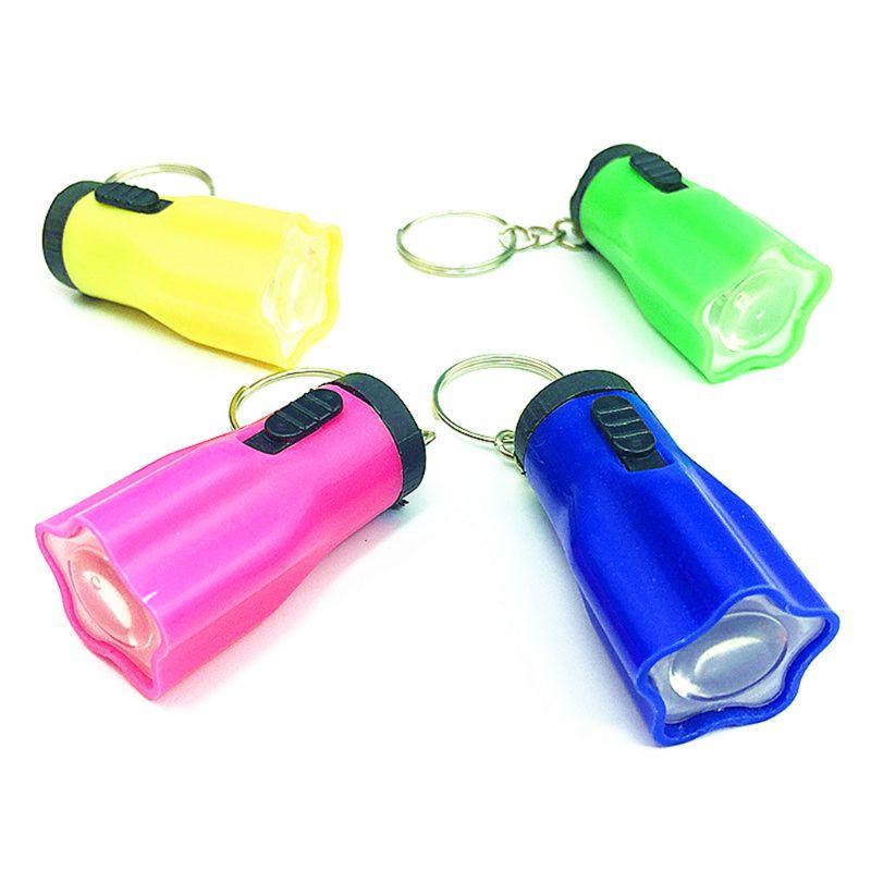 GM11143+Mini Flashlight LED Light-Up Keychain Party Favors Kids Flashlight