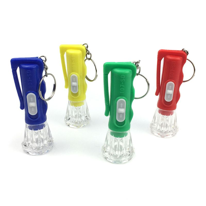 GM11144+Light-Up Toys Keychain Party Favors Kids Toy Gift Gadgets Bag Pendant Kids Flashlight
