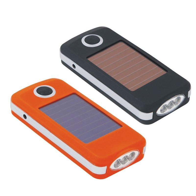 GM11168+Solar Torche Battery Environmentally Friendly Durable Bright Portable Mini EDC LED Flashlight Solar Flashlight
