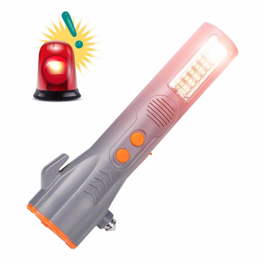 GM11184+USB Flashlight Car Emergency Escape Safety Torch 29 LEDs Flashlight Magnetic Muti-function flashlight