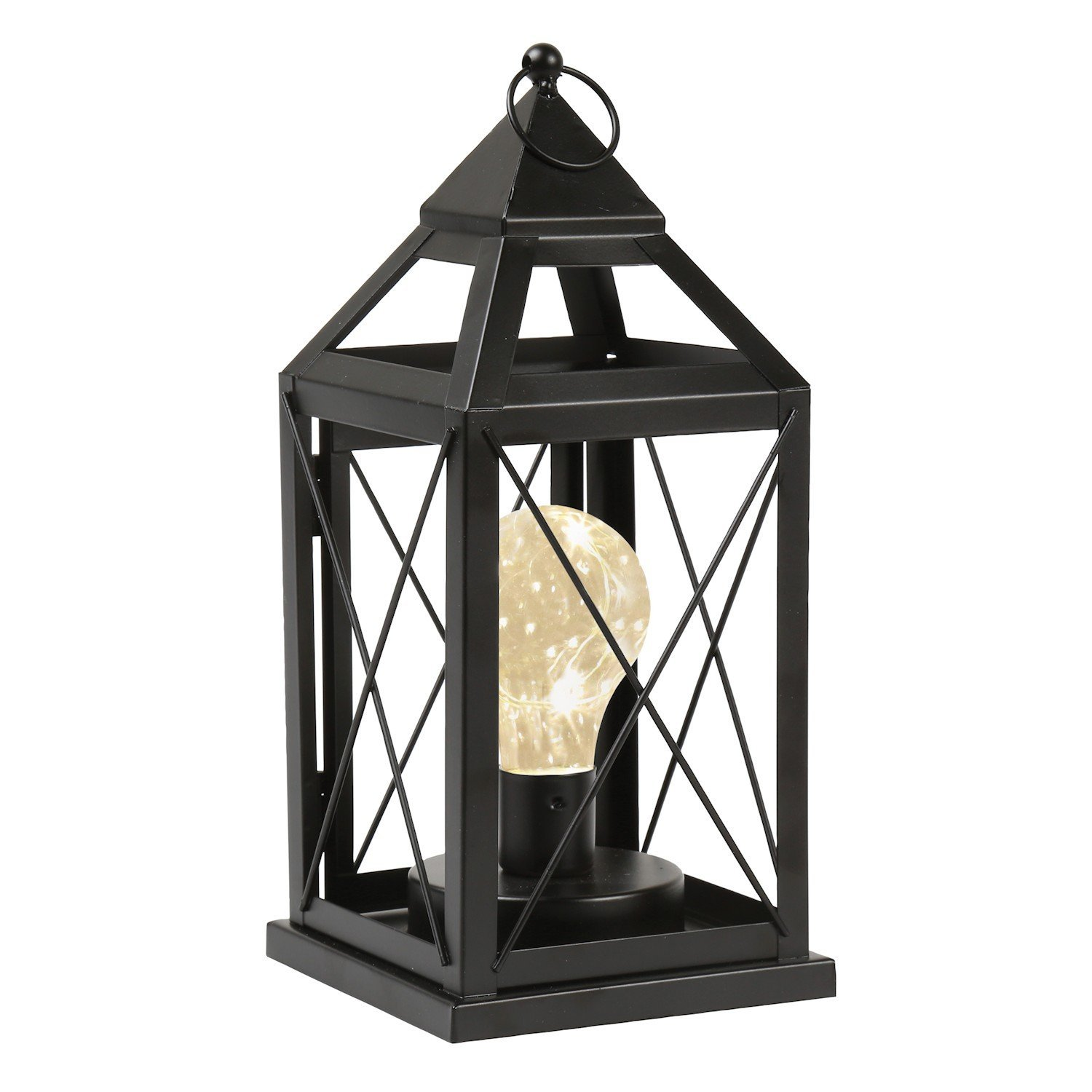 GM11218 Metal Cage Style Desk Decorative Camping Lights