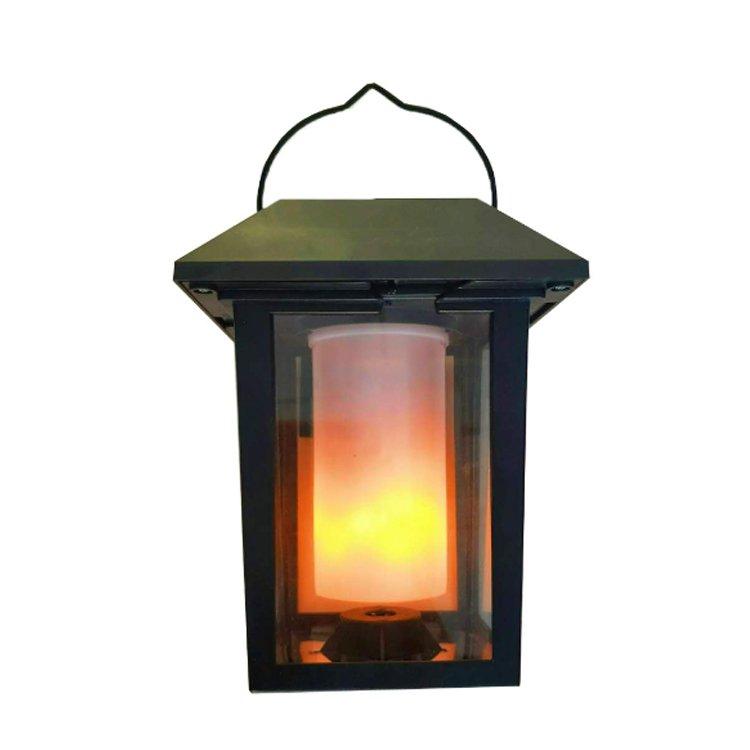 GM11259 portable yard flame light solar garden lantern