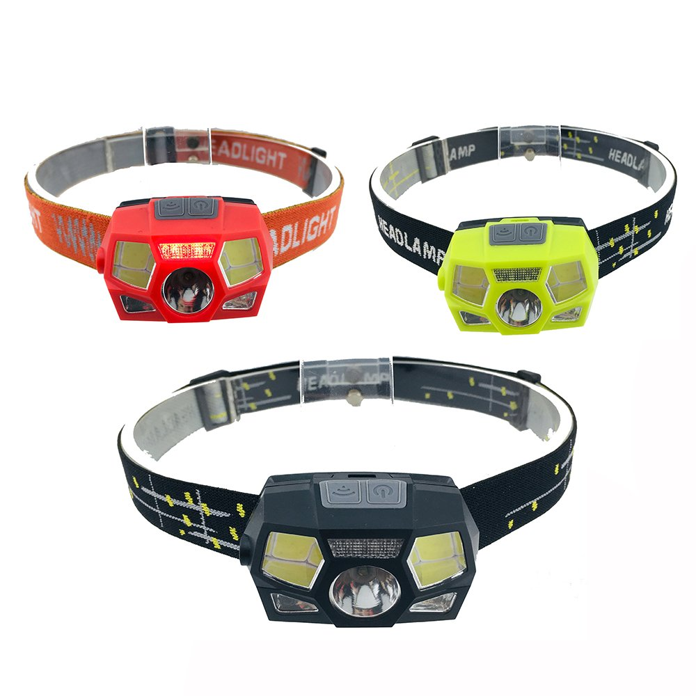 GM11289 USB-rechargeable-sensor-camping headlamp