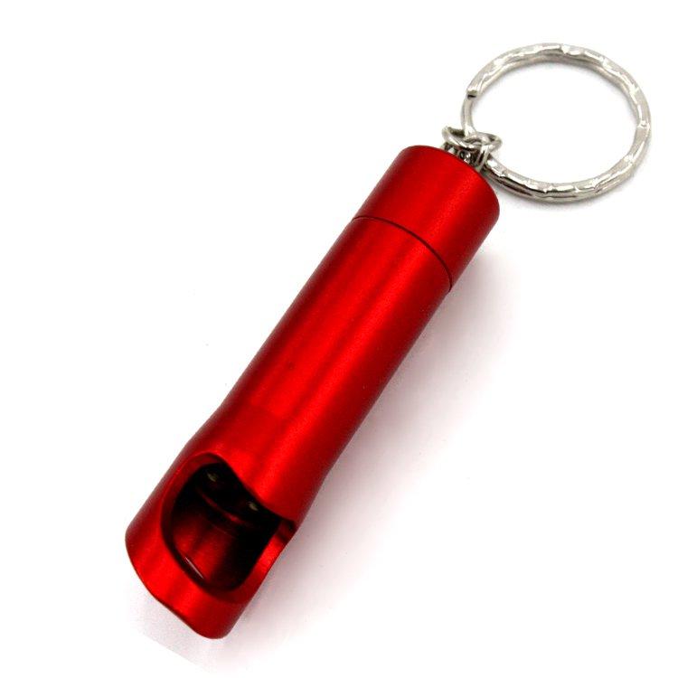 GM11339+Aluminum Beer Bottle Opener Keychain Light Key Ring Lamp LED keychain Flashlight