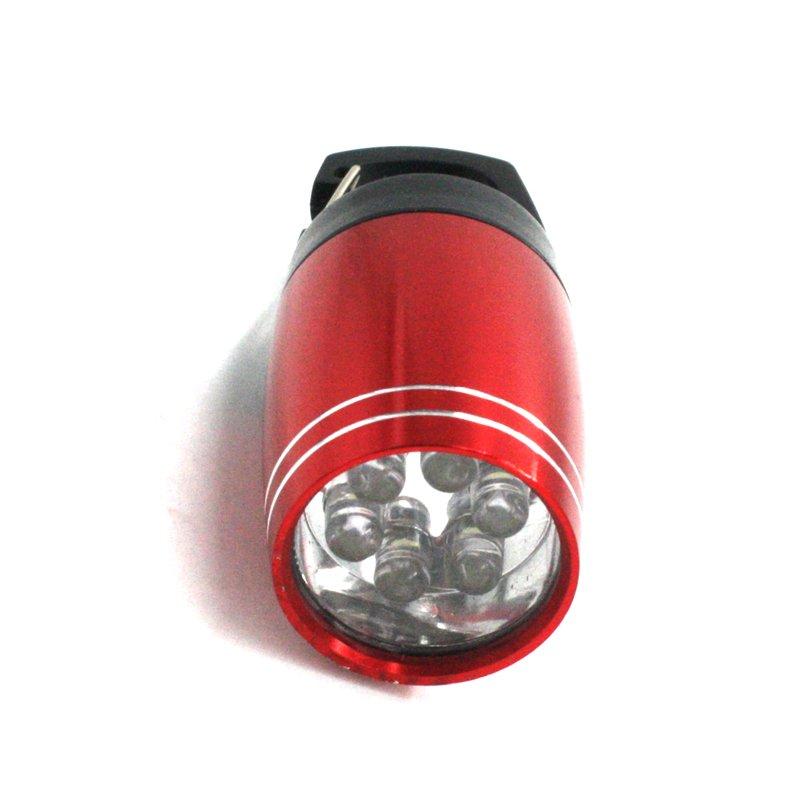 GM11388+High quality CR2032 battery included 6LED mini keychain flashlight