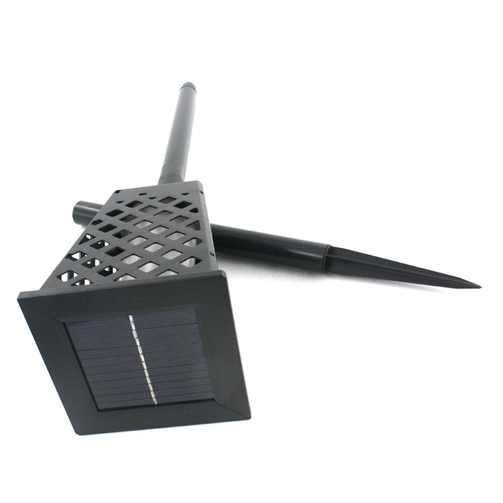GM11409 Square Shape Flickering Torch Light Garden Solar Flame outdoor garden lights