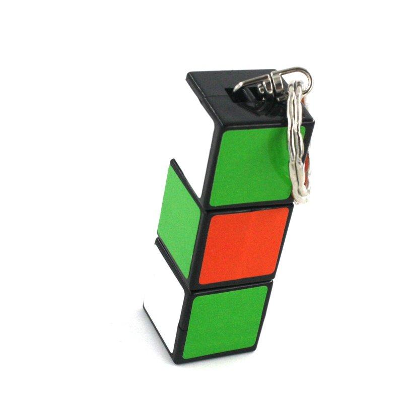 GM11416+1 LED mini Rubik's Cube Keychain Flashlight
