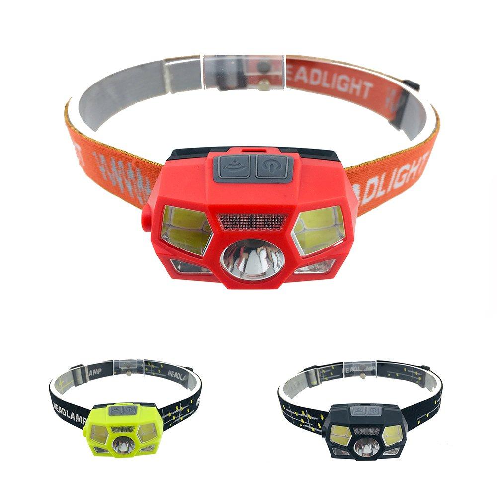 GM11418 New Motion Sensor Waterproof Headlamp