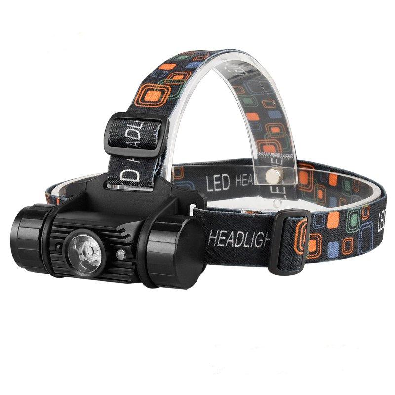 GM11419 Aluminum-Hands-Free-Motion-Sensor USB-Rechargeable Headlamp