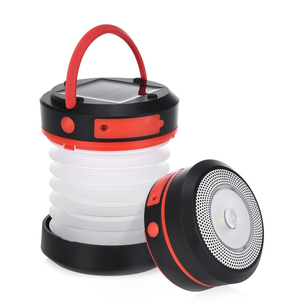 GM20021 Rechargeable Portable Outdoor Solar Rechargeable Camping Lantern