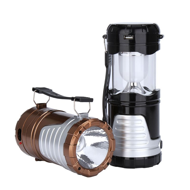 GM20051 Portable Rechargeable Multi-Function Solar Camping Lights