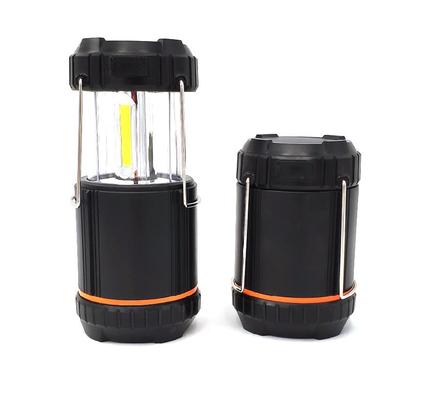 GM20101Solar-rechargeable-COB-camping-lantern-LED Camping Lights