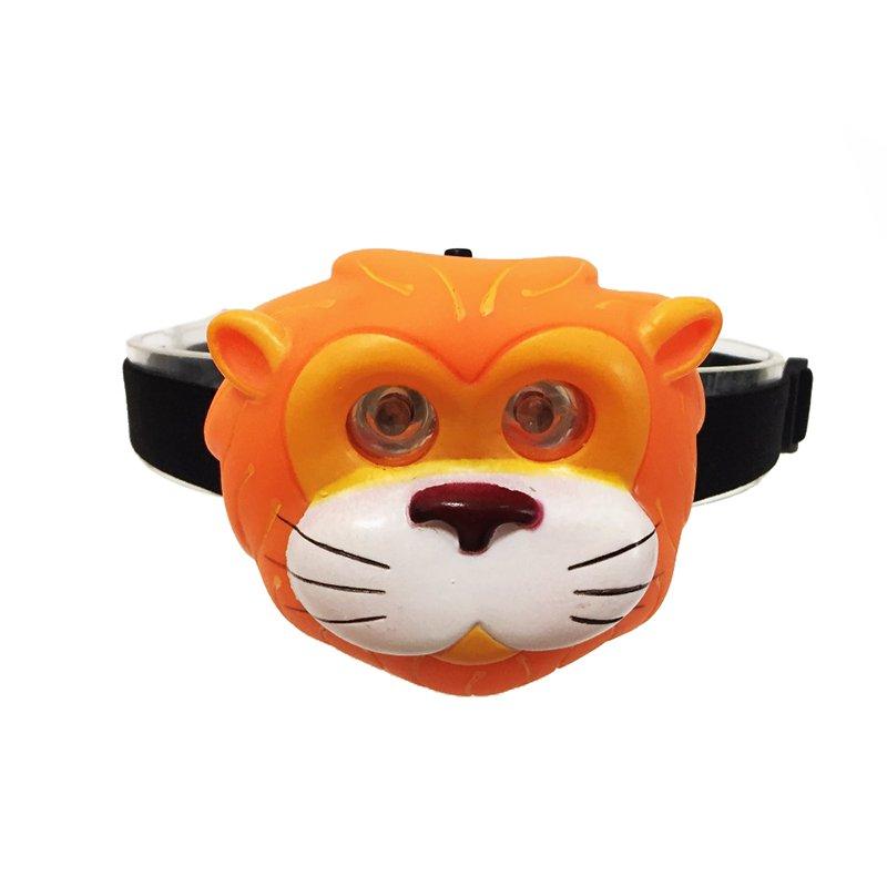 GM201345 animal tiger kids headlamp