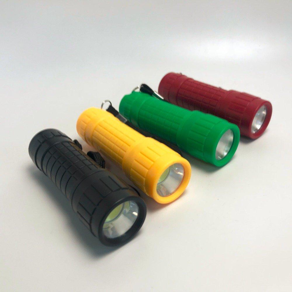 GM8021+Mini COB Plastic Flashlight aaa battery 3W LED Emerency Flashlight