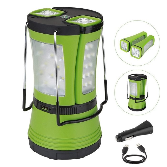 GM8070A 58LED Rechargeable Multi-Function Decorative Camping Lights