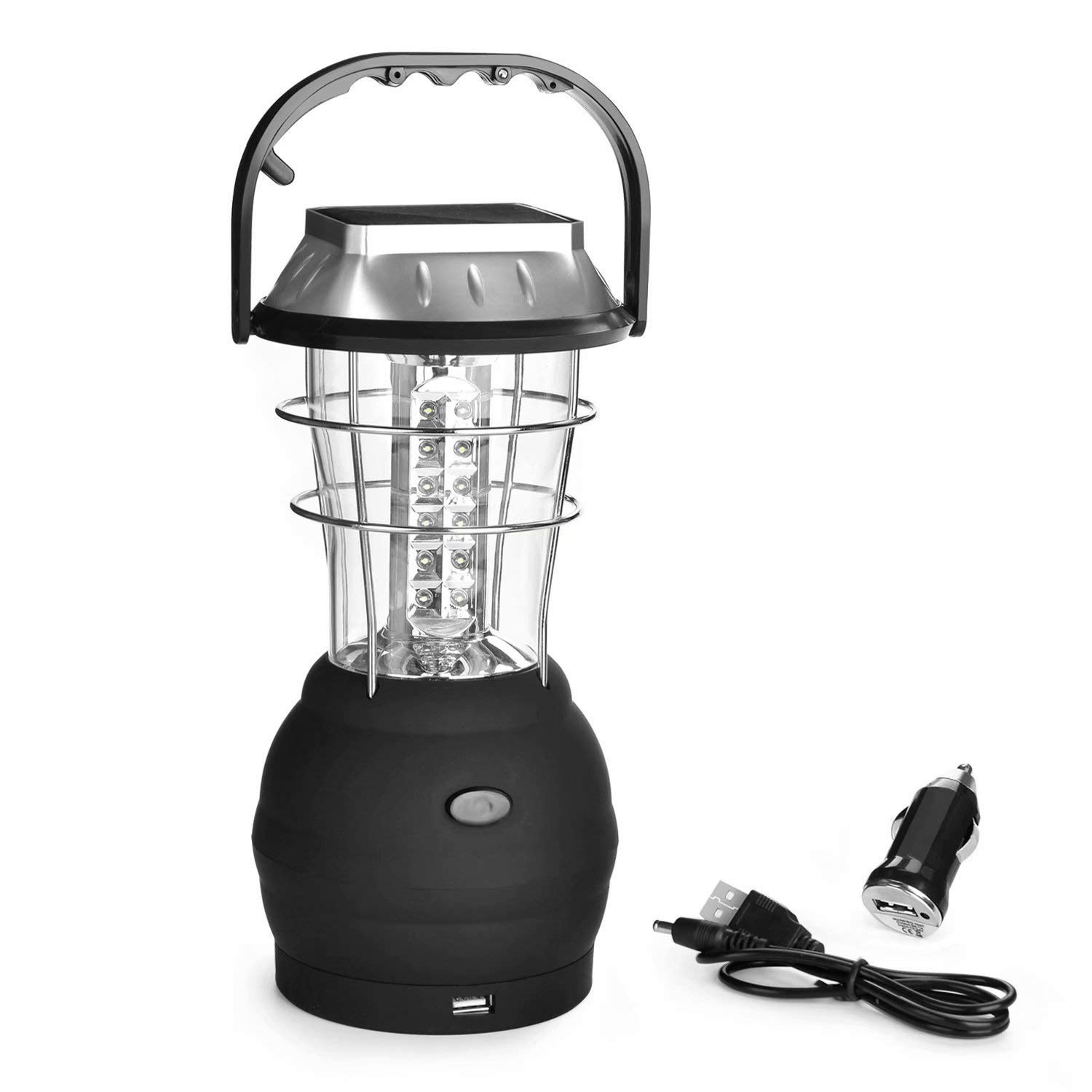 GM8099 GOLDMORE-Outdoor-36-LEDS-Solar Rechargeable Camping Lantern