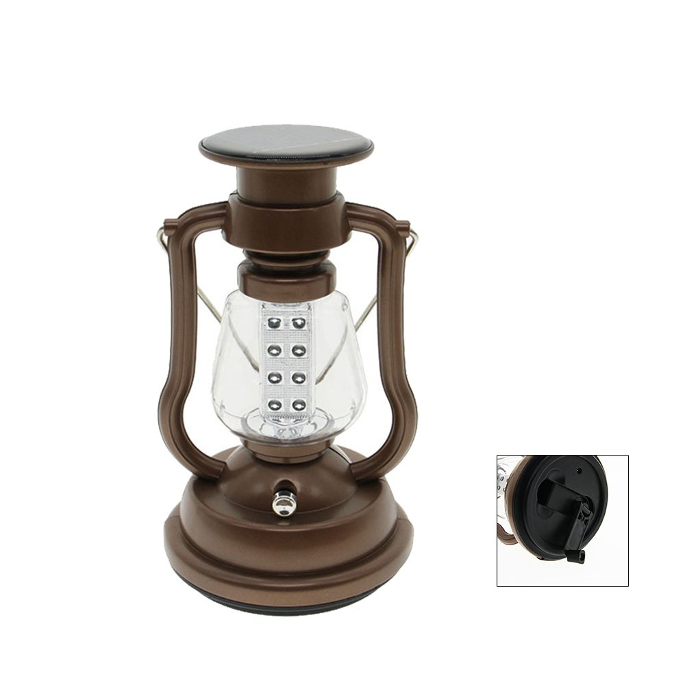 GM8707 Outdoor-Hand-Solar Power Rechargeable Camping Lantern
