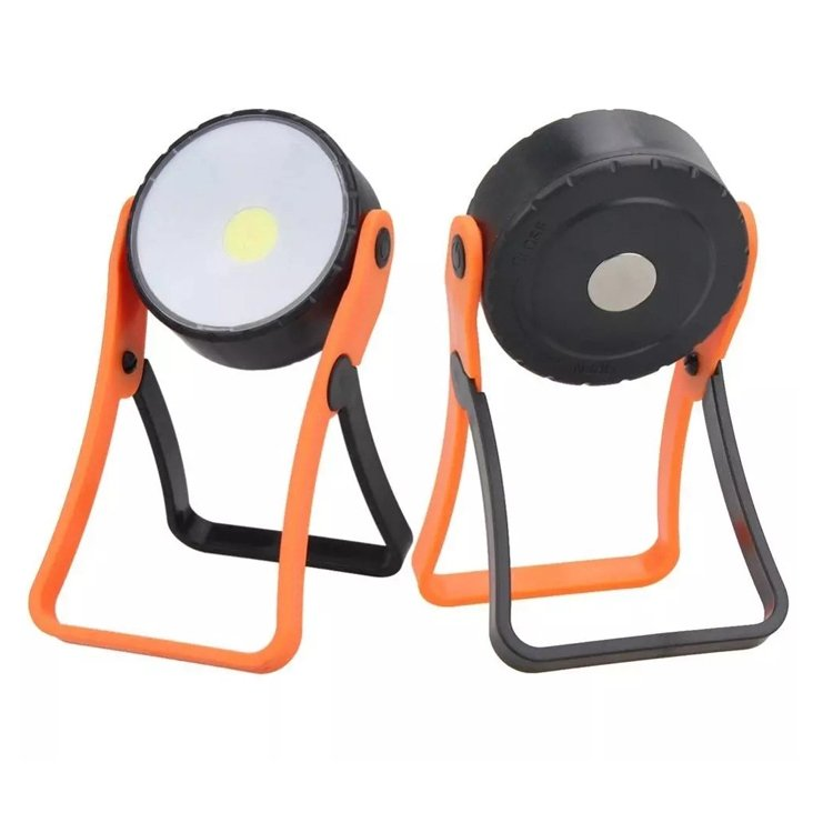 GM10466 AAA power stand COB magnetic battery work light