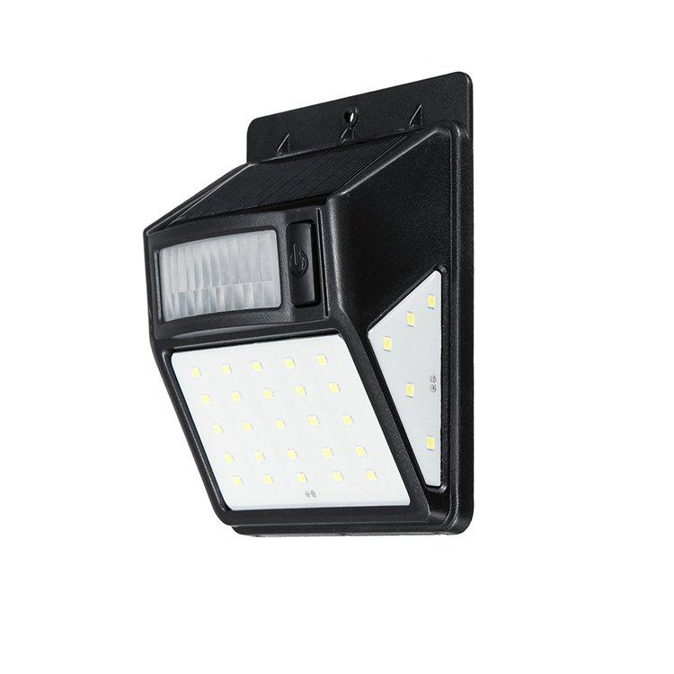 GM10737 35 LED Outdoor Solar Wall Lamp PIR Motion Sensor Waterproof Light garden Wall Lights
