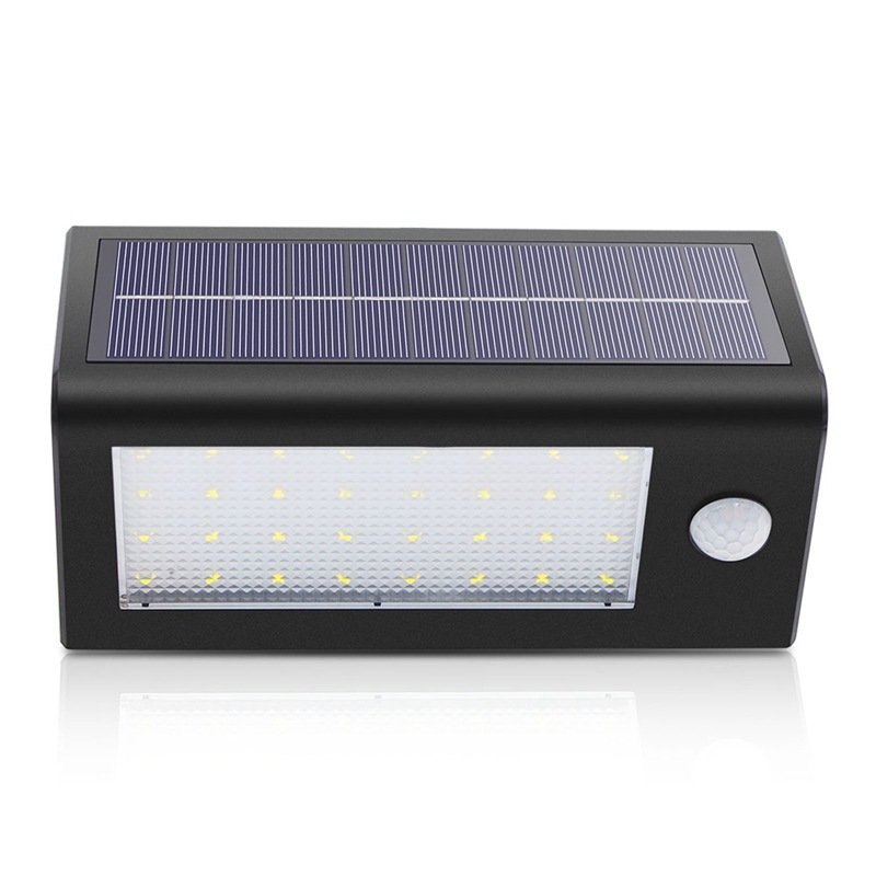 GM10966 Outdoor Waterproof Solar Motion Sensor Wall battery garden lights
