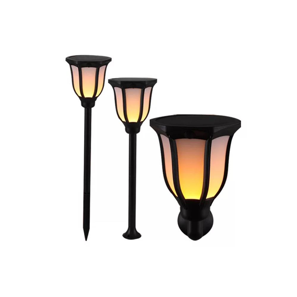 GM10986 Waterproof Solar Torch Light Flickering Solar flame garden spike light