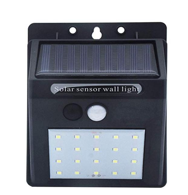 GM11120 20 LED sensor switch garden Wall battery garden lights