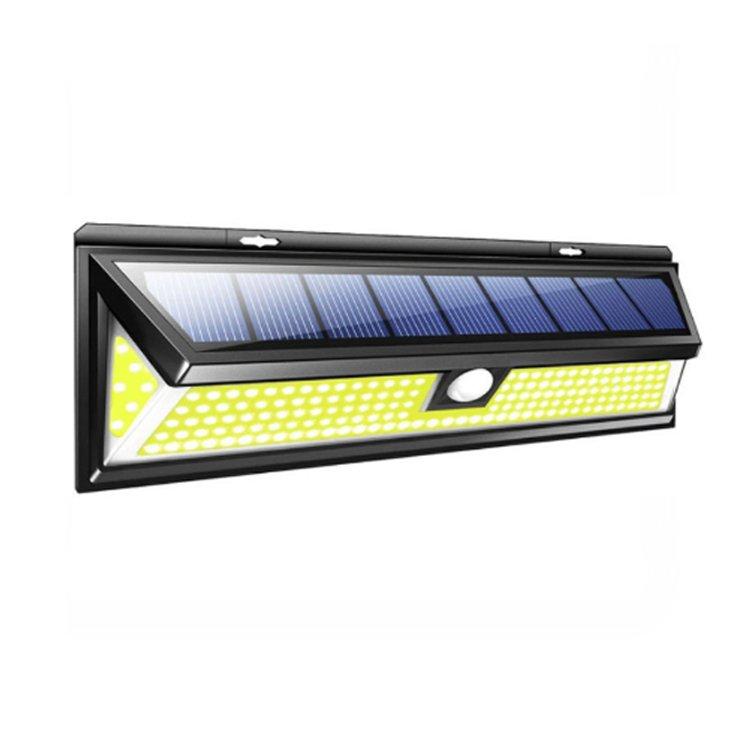 GM11275 COB sensor motion soalr Wall mounted battery garden lights